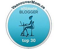 Ultimate Mom Blogger top 30