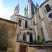 Notre-Dame of Dijon 1220-1240. South-east view to the choir, crossing tower and transept (вид с юго-востока на трансепт, башню средокрестия и хор)