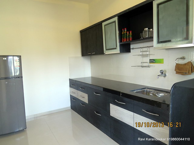 Kitchen - Visit 2 BHK Show Flat of Vastushodh Projects' UrbanGram Kolhapur, Township of 438 Units of 1 BHK 2 BHK Flats, behind S. P. Office, near Dream World Water Park, Kolhapur 416003 Maharashtra, India