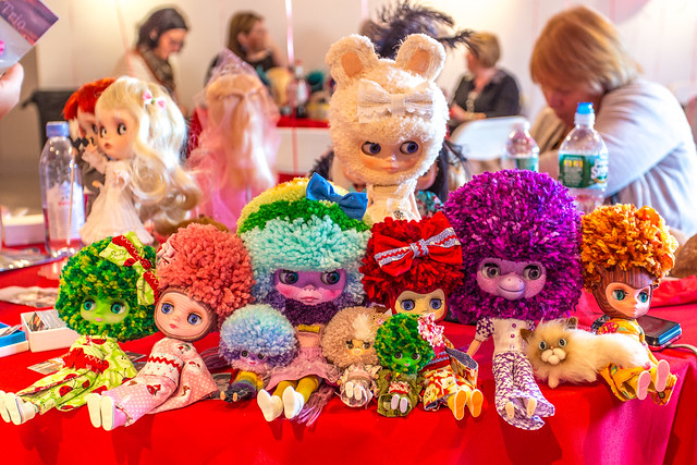 Yarn heads at Blythecon New York 2013