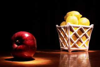 Apples and Lemons by Ellipsis-Imagery on Flickr
