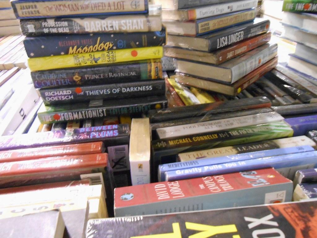Warehouse sale books1