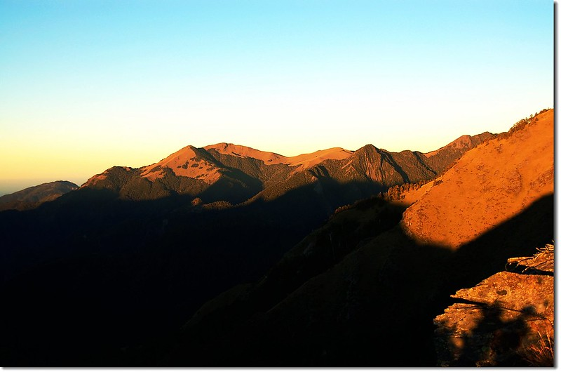 大雪山之晨