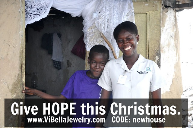 give hope, Christmas, ViBella