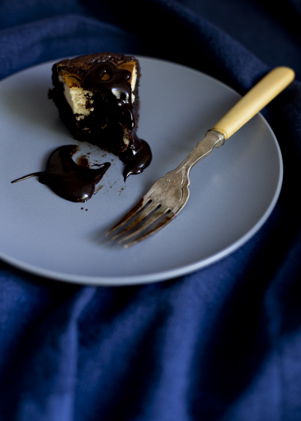 Decadent Cheesecake Brownie / The Gluten Free Scallywag