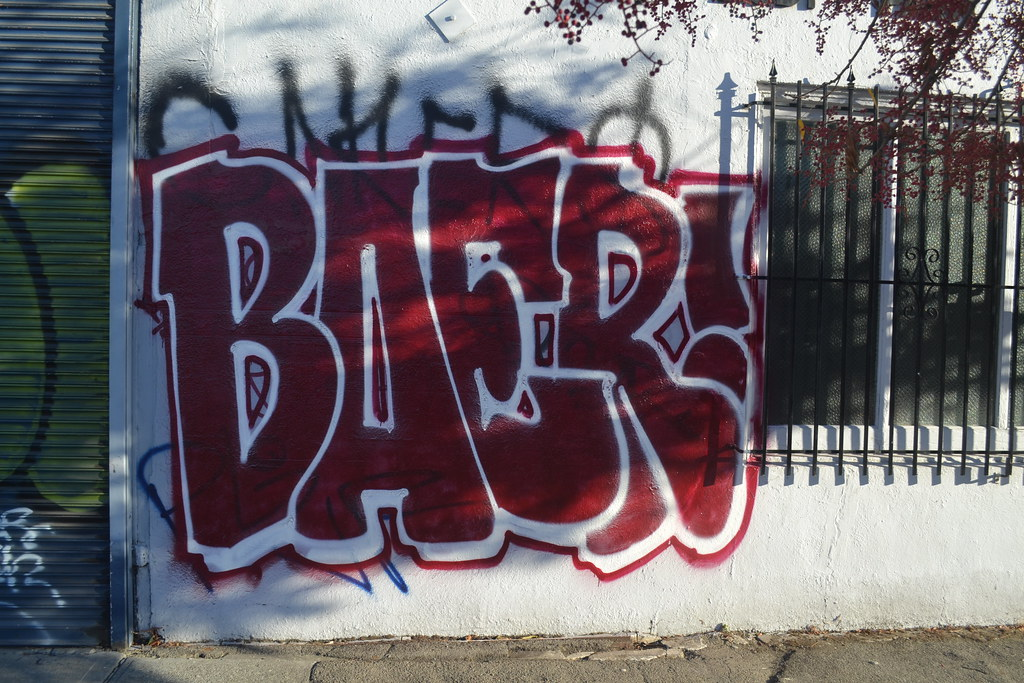 BAER, Graffiti, Oakland, Street art