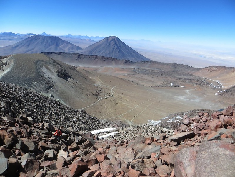 Nearing the summit of Sairecabur