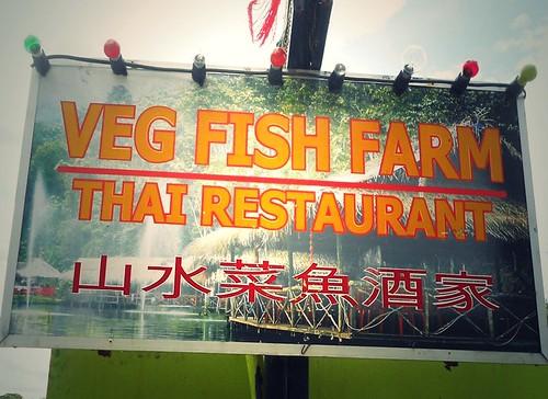 SAMBUT BIRTHDAY MAMA NORA DI VEG FISH FARM THAI AMPANG