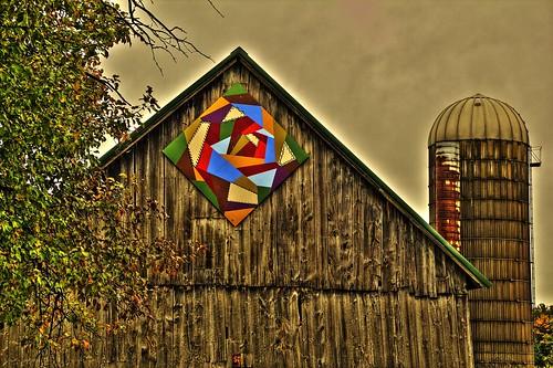 Crazy Barn Quilt