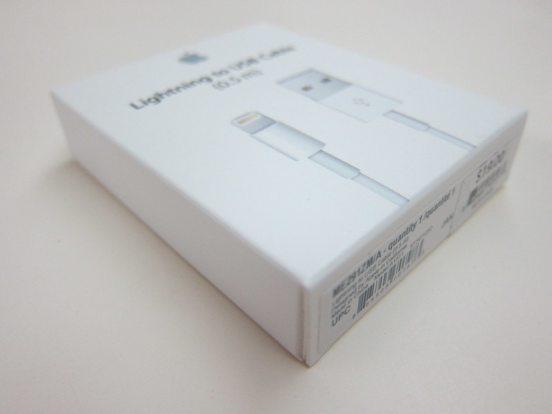 Apple Lightning to USB Cable (0.5m) - Box