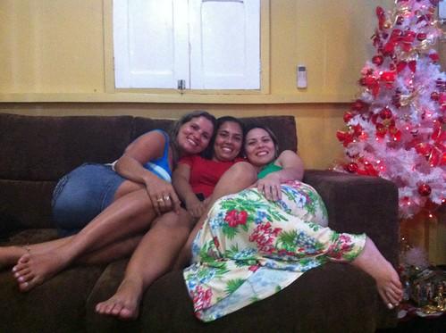 Visitinha das amigas Gisely e Dayane... Muitos risos !!!