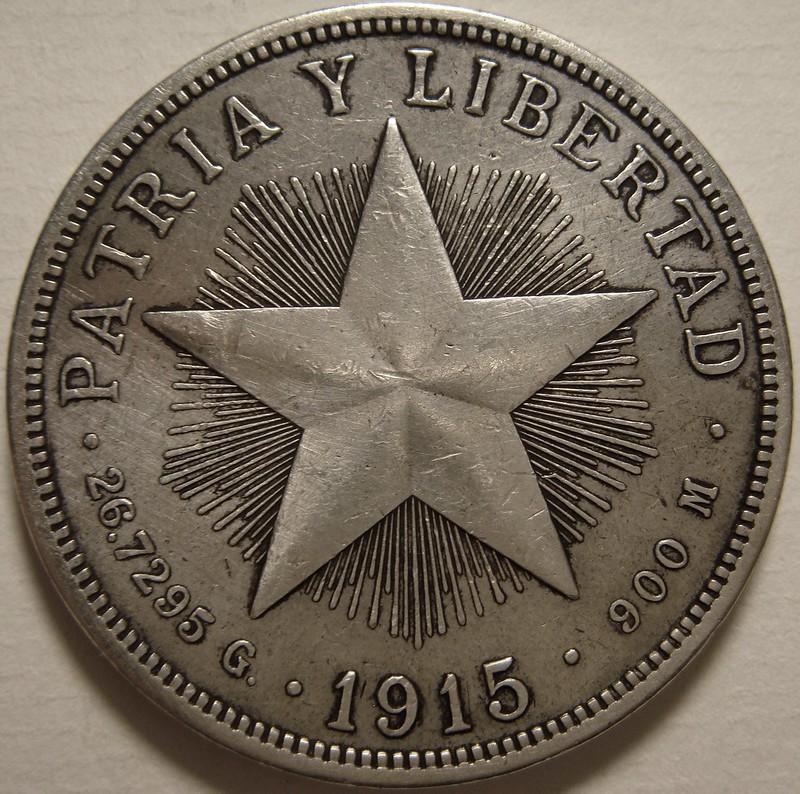 1 Peso. Cuba. 1915 12009222823_dca6d7bdfd_c