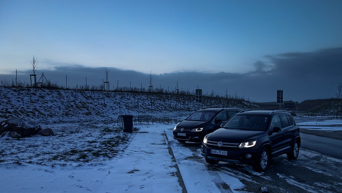 VW Tiguan and Sharan