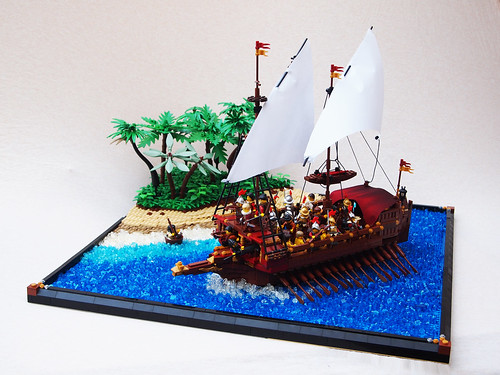 Venetian War Galley by Mark of Falworth