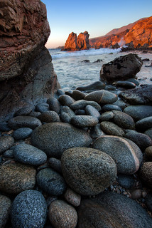 Boulders and Sea Stacks and Boulders