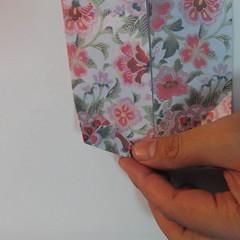 การพับกระดาษเป็นรูปหัวใจแบบ 3 มิติ 029