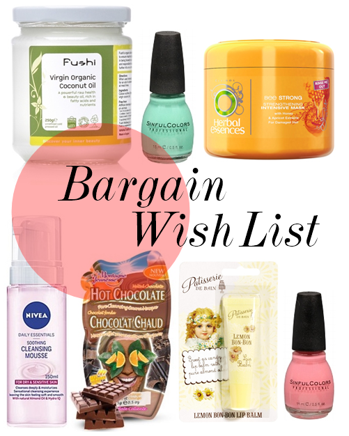 Bargain_beauty_Wishlist
