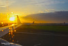 Sunrise before Take-off