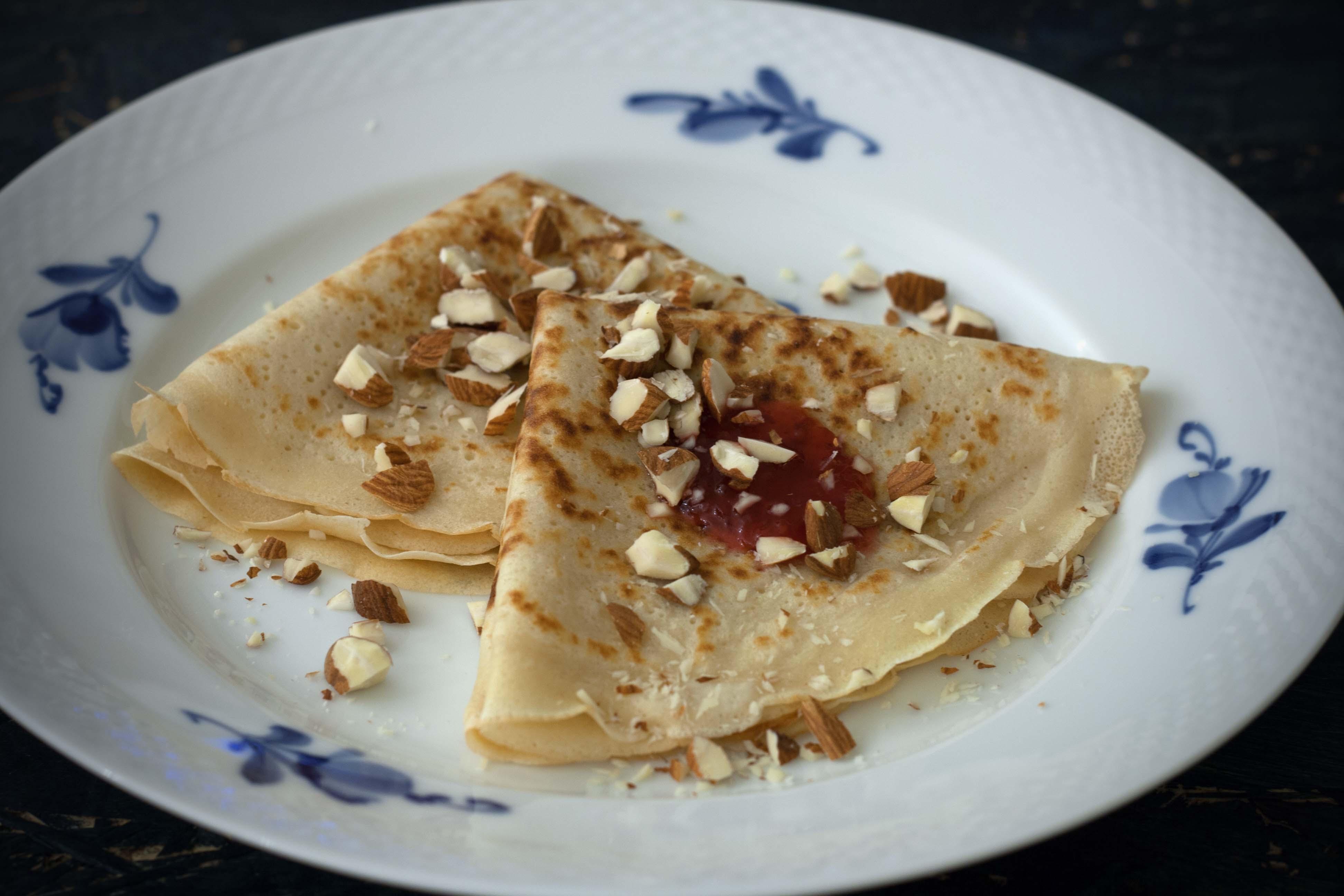 Opskrift på hjemmelavede pandekager, nem opskrift