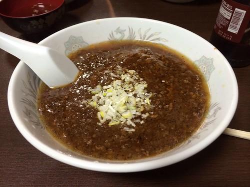 汁ありジャージャー麺@音羽屋
