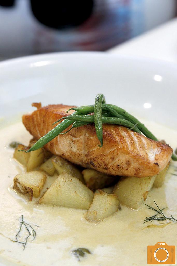 Kulinarya Kitchen Salmon Beurre Blanc