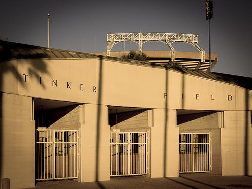 tinker field entrance