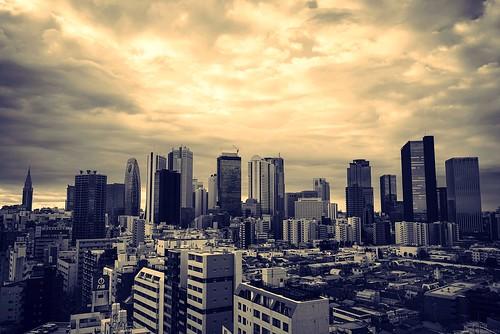 Shinjuku skyline - Sony A7R