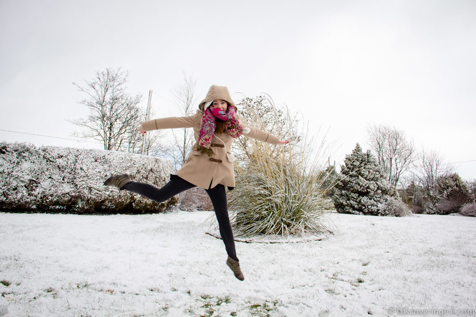 me jumping in the snow 9