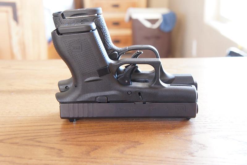 M And P Shield Vs Glock 26 A few pics - Glock 42 ...