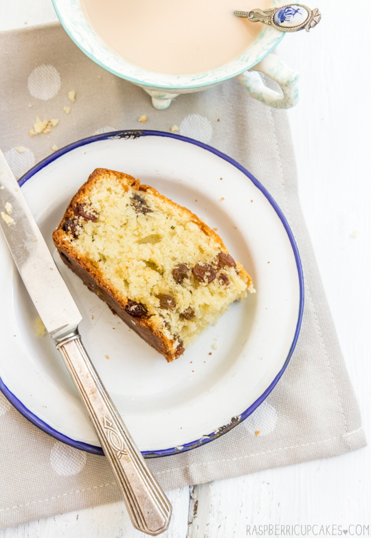 Buttermilk Cake with Sultanas