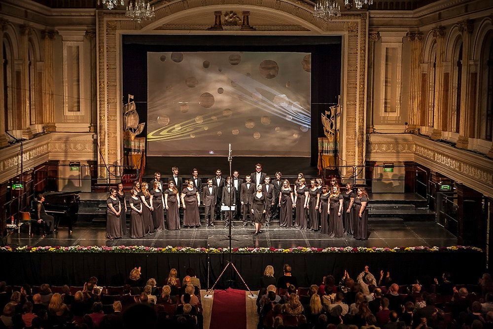 Lethbridge University Singers performs in Cork City Hall as part of the Cork International Choral Festival