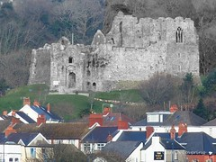 Oystermouth Castle 4th March 2014