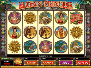 Mayan Princess Slot Machine