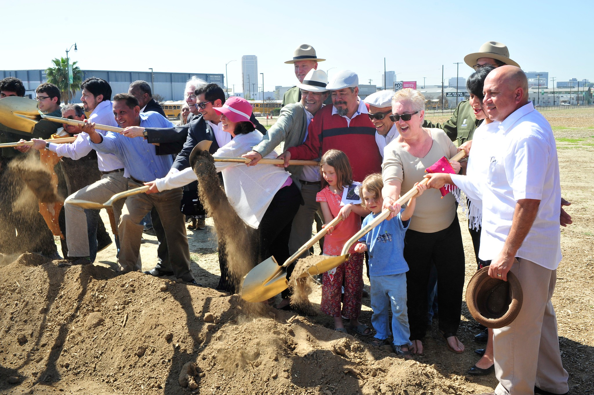 Los Angeles State Historic Park Groundbreaking March 15, 2014