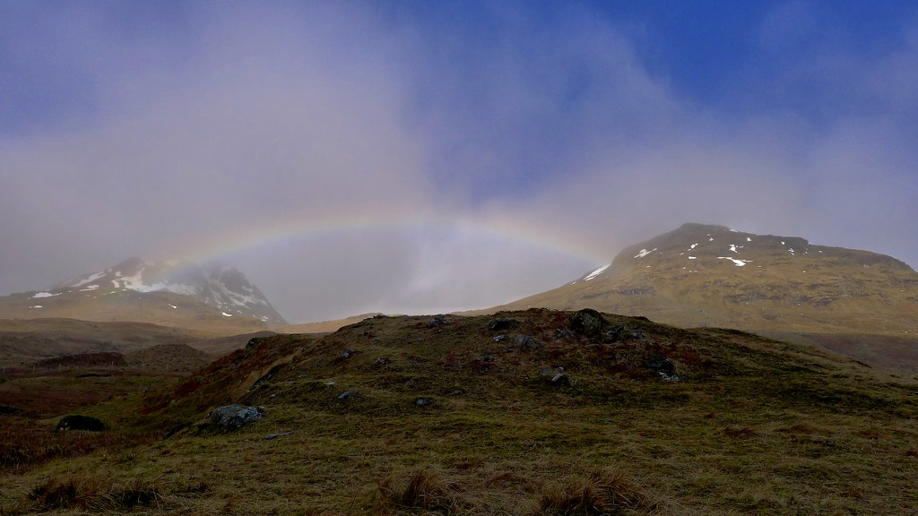 Rainbow in Glen Lochay