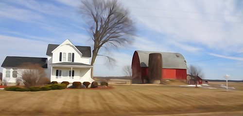 On the Road ~ American Barns by VasenkaPhotography