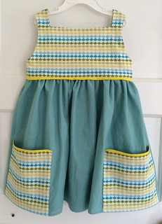 ocean wave sally dress
