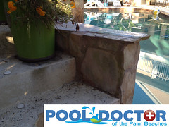 Custom Outdoor Kitchen West Palm Beach FL - Before and During