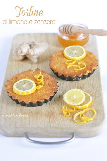 Tortine al limone e zenzero