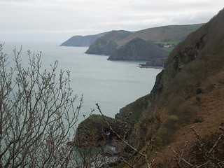 14 04 12 SWCP Day 3 (15) Looking back across Woody Bay