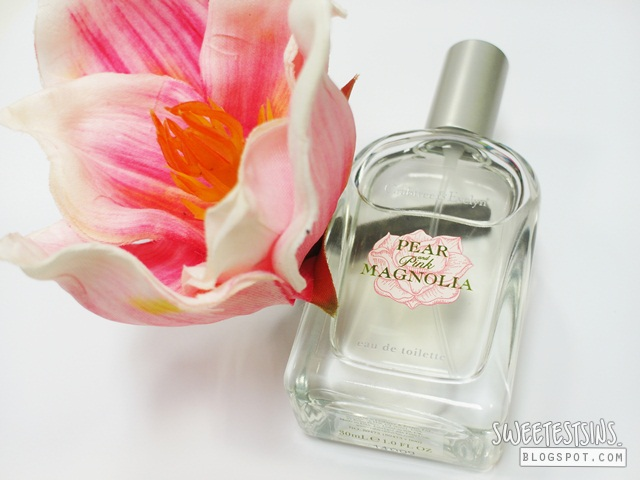 crabtree & evelyn pear and pink magnolia eau de toilette review