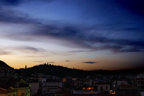 sunset sky color night clouds lights cloudy cityscapes greece 2014 nex trikala nex5r 240compo