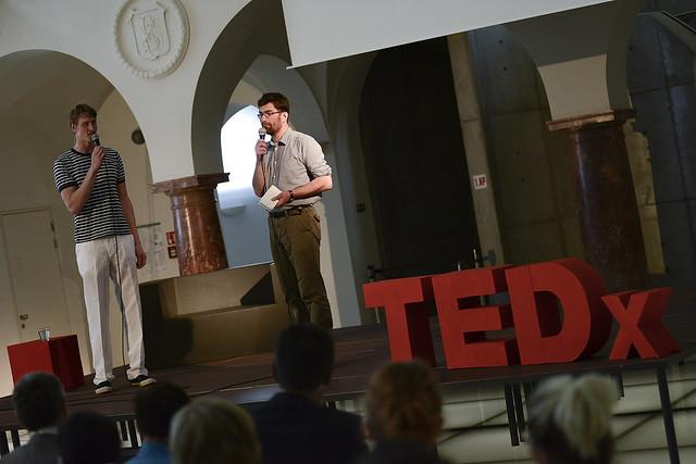 Plavčíci Ondřej a Martin zahajují TEDxLiberecSalon