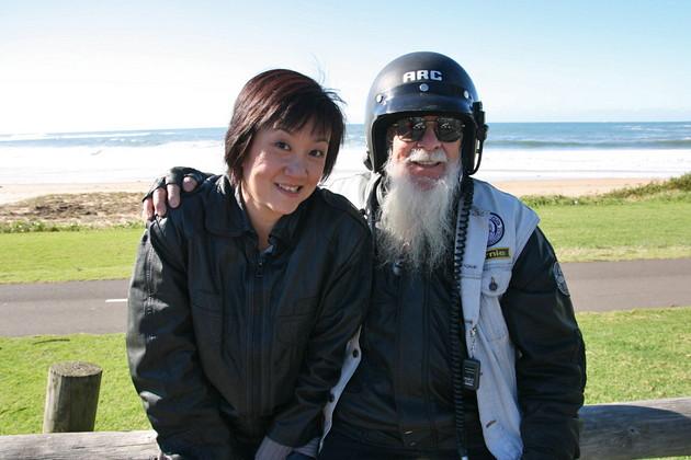 Me and my grandpa biker