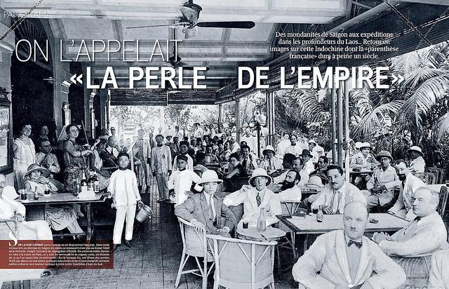SAIGON 1920s - Grand Hôtel de la Rotonde