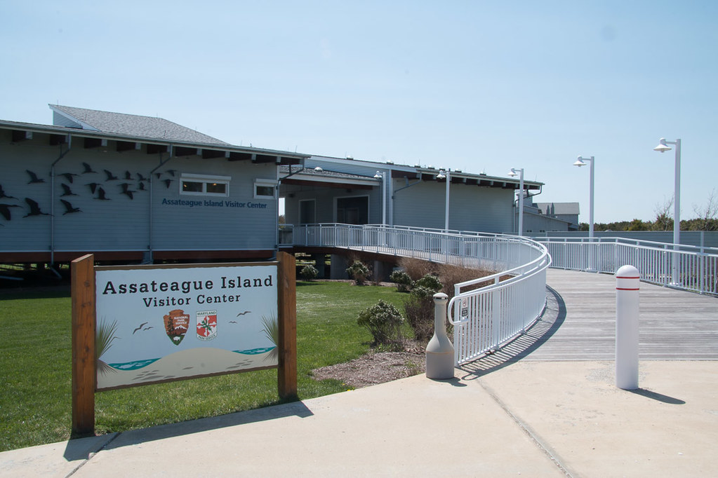 Visitor Center at Assateague National Park