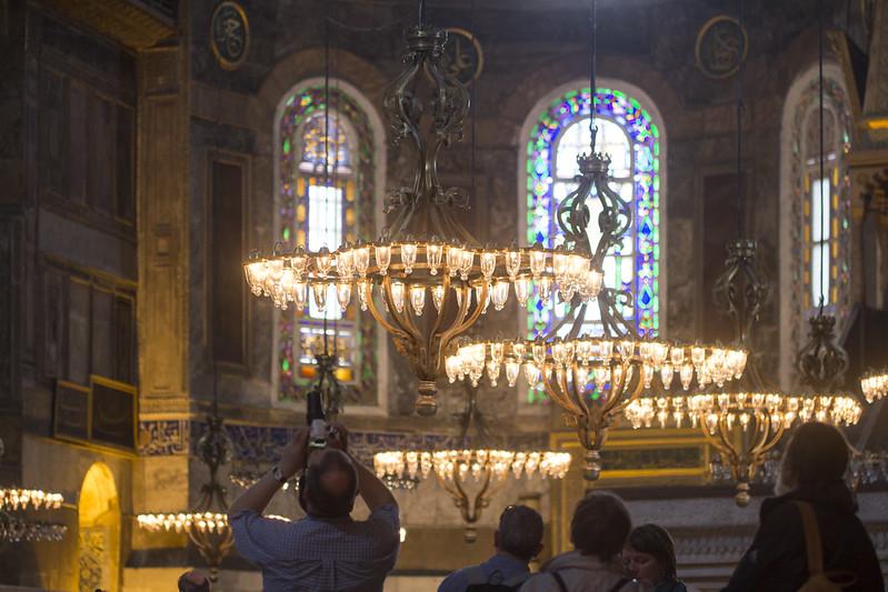 Amazing Hagia Sophia - interior #3 - Istanbul, Turkey