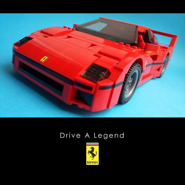 Ferrari F40 - Advertisement 1
