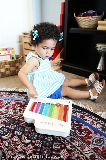 Playing the Xylophone at 20 Months