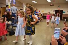 Kindergarteners Walking In